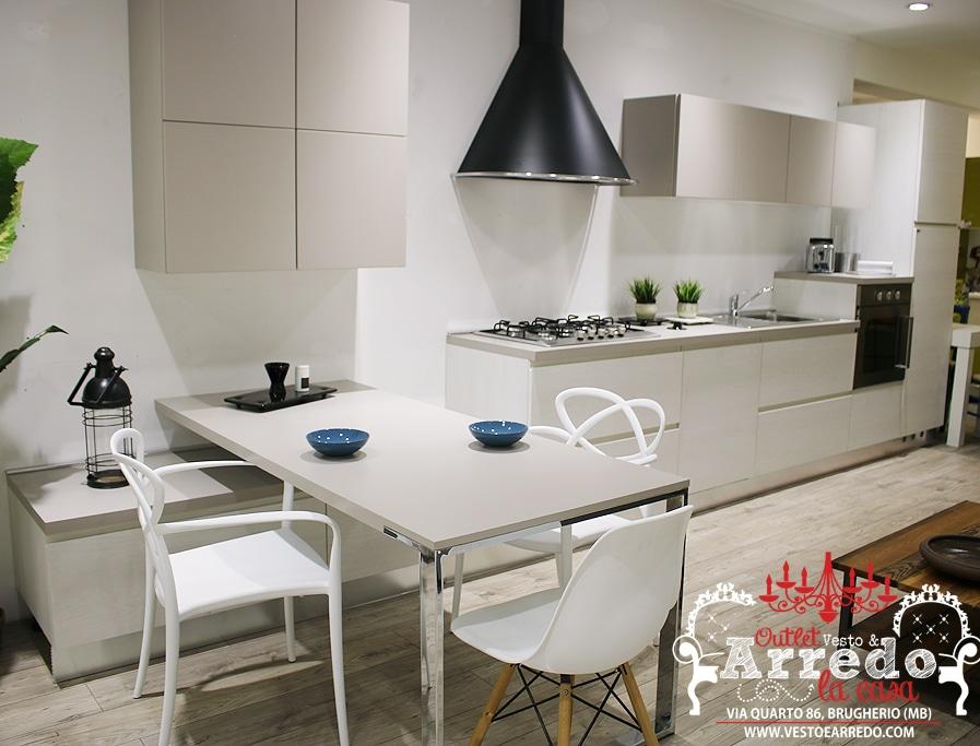 Cucina Ar-tre con Penisola ⋆ outlet arredamento Vesto ...