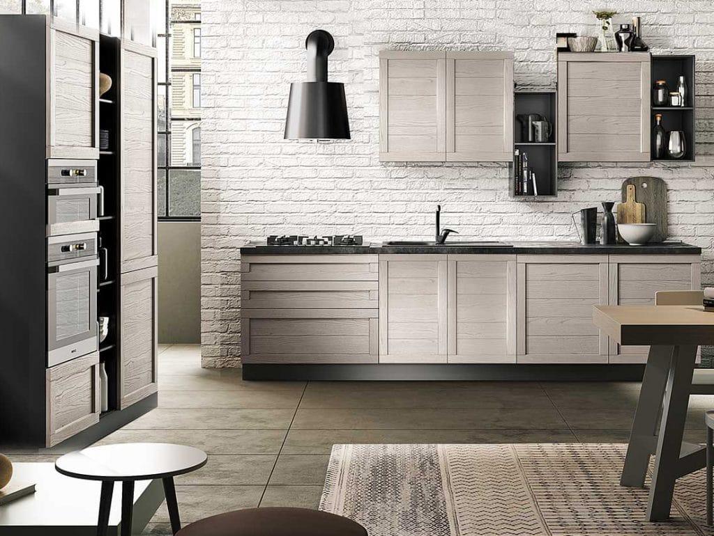 Cucina wood outlet arredamento vesto arredo la casa for Outlet arredamento casa