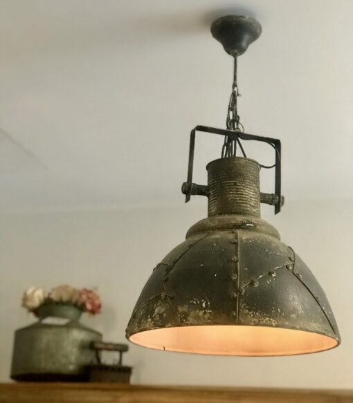 lampadario industrial